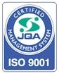 ISO9001認証取得ページ